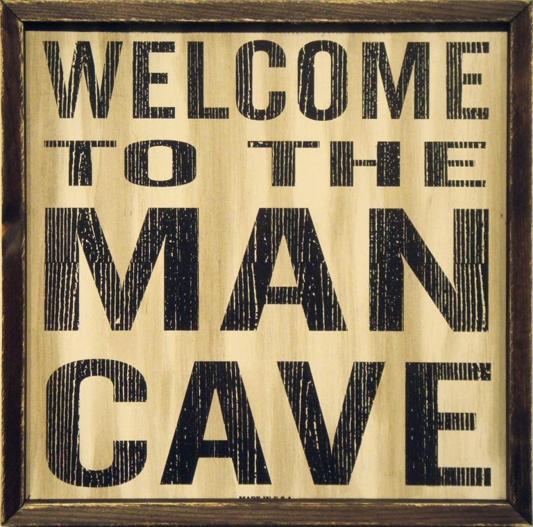 Man Cave Wall Decoration